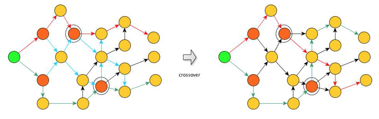 general process of crossover
